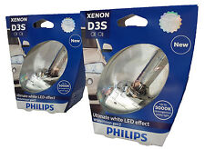 D3S PHILIPS WhiteVision 5000K Xenon Scheinwerfer +120% Duo 42403WHV2S1