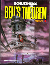 Bell's Theorem 3 Contact by Matthias Schultheiss (1989, Paperback) GRAPHIC NOVEL