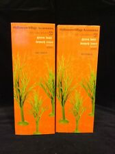 New ListingDepartment 56 Sv Halloween Lot 2 Sets~Green Bare Branch Trees (Set of 3)~4038915