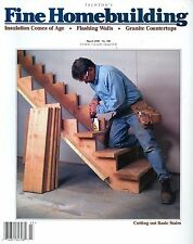Fine Homebuilding March 1996 Granite Countertops & Flashing Walls