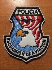 PATCH POLICE PERU - AIR SUPPORT UNIT -  ORIGINAL!