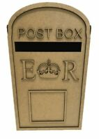Wooden Wedding Post Box, Royal mail for Cards Letters Gifts cfS279