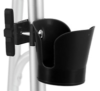 Universal Cup Holder Plastic Wheelchairs For Walkers Rollators Transport Chairs