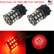 JDM ASTAR 4x 3157 3156 12V LED Red AX-2835 SMD Brake Tail Signal Light LED Bulbs