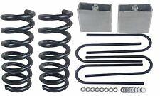 "3/4 Drop Kit S10 2wd V6 3"" Front Springs 4"" Rear Aluminum Blocks Ubolts"