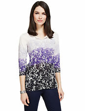Per Una Button 3/4 Sleeve Jumpers & Cardigans for Women
