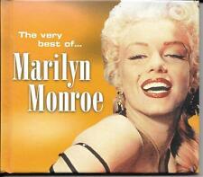 CD / LIVRE 20 TITRES MARILYN MONROE THE VERY BEST OF... DE 2000 ANTHOLOGY'S TBE