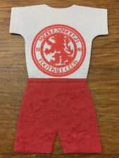 Craft Clearout 10 x Mulberry FOOTBALL KIT Team Toppers MIDDLESBROUGH FC BNIP