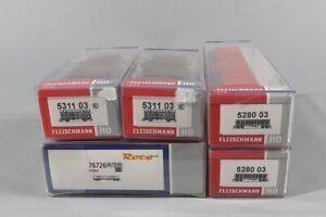 T 84795 Sammlung Roco + Fleischmann H0 Güterwagen
