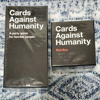 Cards Against Humanity Base Game + Red Expansion Box: CAH Bundle 900 cards *NEW*