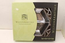 ~ Wilton Armetale Symphony Divided Server Hexagonal 11-3/4in by 2in, New