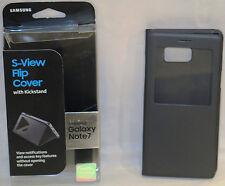 Samsung S-View Flip Cover w/ Kickstand for Samsung Galaxy Note 7 Black OPEN BOX