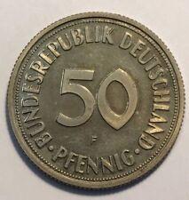 Gute 50 Pfennigmünzen der BRD (1949-1950)
