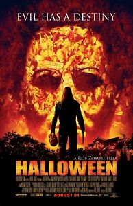 Halloween movie poster print  : 11 x 17 inches - Rob Zombie