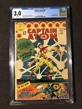 Captain Atom #83 CGC 3.0 WHITE PAGES 1st Appearance Blue Beetle Charlton Comics