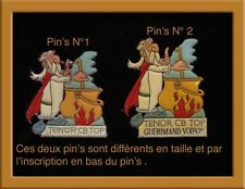Pin's Asterix Corner rare n° 1 sur la photo TRES RARE