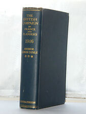 Arthur Conan Doyle British Campaign in France And Flanders 1916 1st Edition 1918