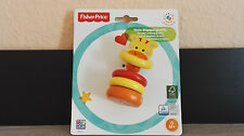 Fisher Price Holz Klappergiraffe Happy People 41211