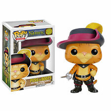 Funko Shrek POP Puss in Boots Vinyl Figure NEW Toys Dreamworks Animated Movies