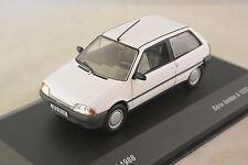 ODEON 001- Citroen AX 1988 blanc 1/43