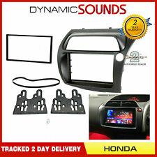 CT23HD11 Double Din Black Fascia Panel Adaptor For Honda Civic 2006-2011
