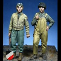 1/35 Resin WWII US 2 Tankers Unassembled Unpainted BL727