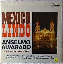 Anselmo Alvarado con Guitarras Mexico Lindo Spanish Guitar Latin LP Shrink NICE