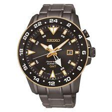 Relojes de pulsera Seiko Sportura de acero inoxidable resistente al agua