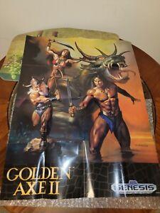 Golden Axe 2 II Poster: Sega Genesis