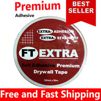 FT Extra Scrim Tape Plasterboard Joint Cover Mesh Tape Drywall Tape