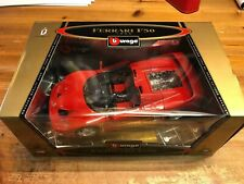 Burago BBurago Ferrari F50 rossa red 1995 1/18 GOLD COLLECTION NEW