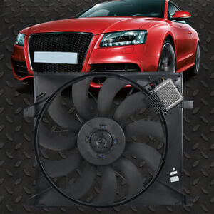 FOR 00-03 MERCEDES-BENZ ML55 AMG OE STYLE BOLT-ON RADIATOR COOLING FAN MB3115118