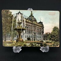 C.1909 Antique VTG Postcard Hanover, Germany Main Post Office Hannover Hauptpost