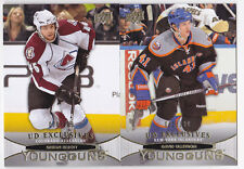 11-12 Upper Deck David Ullstrom /100 UD Exclusives Young Guns Rookie 2011