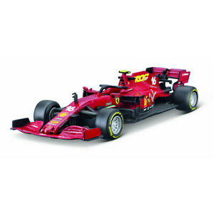 Bburago 1:43 2020 Ferrari F1 SF1000 #16 Charles Leclerc Diecast Model Car Boxed
