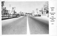 Autos Shell Texaco Hassayampa Wickenburg Arizona 1940s RPPC Photo Postcard 9393
