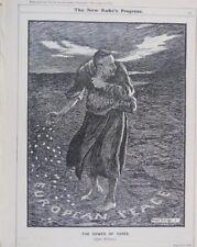 """7x10 """"PUNCH CARTOON 1914 W.W. 1 il Sower di loglio Marocco prestito"""