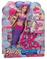 Barbie Girls Bubble-Tastic Mermaid Doll - Mauve