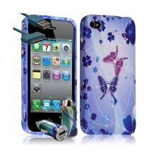Housse Etui Coque pour Apple Iphone 4 / 4S motif HF06 + Chargeur Auto