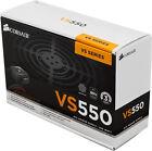 Corsair VS550 550W PSU 80 Plus Rated ATX PC Power Supply - CP-9020097-UK