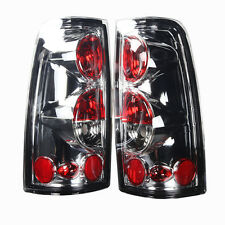 Stealth 1999-2006 Chevrolet Silverado GMC Sierra Tail Lights - Chrome/Clear
