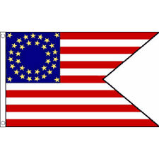 Us Cavalry (Guidon) Flag 5Ft X 3Ft American Civil War Banner With 2 Eyelets New