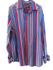 Near new DAVID SMITH men's shirt. Sz  2XL slim fit. Australian designer.
