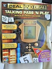 Deal or No Deal Talking Pass 'N Play Electronic Banker Handheld Game NBC TV Show