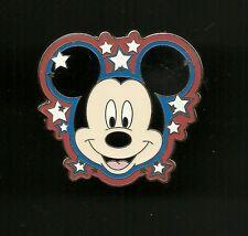 Mickey Mouse and Stars Splendid Walt Disney Pin