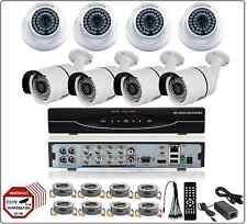 8CH 2MP 1080P 5-in-1 DVR, 2MP 1080P AHD CCTV Security Surveillance Camera System