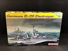 Dragon German Z-39 Destroyer 1:700 Scale Plastic Model Kit 7103 New in Box