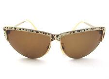 occhiale da sole Sandra Gruber  vintage donna BEIRA 908 colore oro/tartar. beige