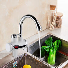1X LED Digital Display Instant Hot Electric Faucet Water Heater Home Kitchen SH