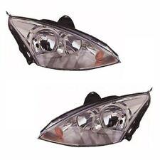 Ford Focus Mk1 Saloon 10/2001-4/2005 Headlights Headlamps 1 Pair O/S & N/S